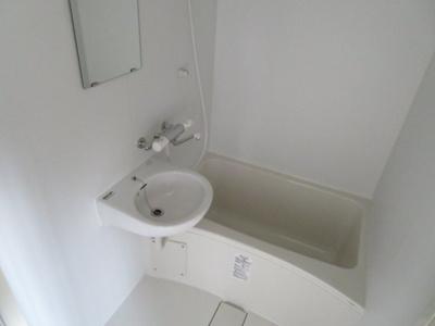 【浴室】コーポ谷地
