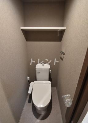 【トイレ】コンフォリア門前仲町WEST