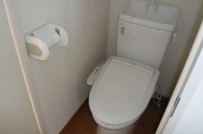フェリスカーラのトイレです☆