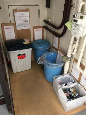 ゴミ置場はココ