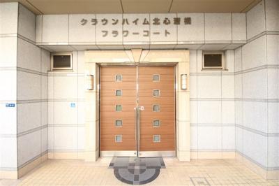 【エントランス】クラウンハイム北心斎橋フラワーコート
