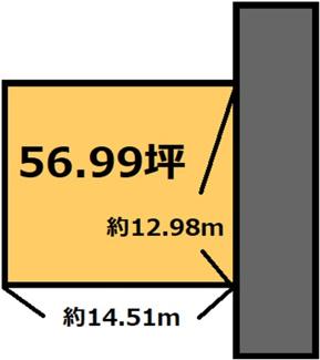 【土地図】12所団地 185万円
