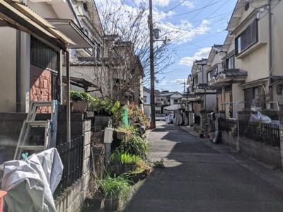 【前面道路含む現地写真】京都市伏見区醍醐上山口町