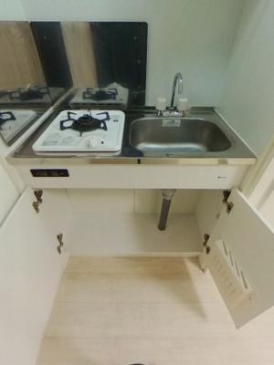 【キッチン】初期費用17000円のリノベーション賃貸
