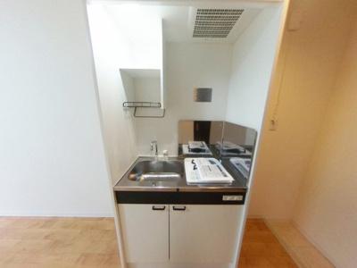 【キッチン】築浅ハイツタイプ初期費用激安17000円で入居可能