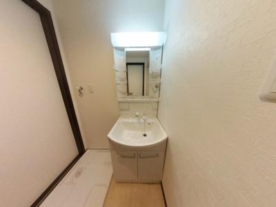 【洗面所】築浅ハイツタイプ初期費用激安17000円で入居可能