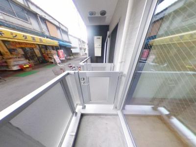 【バルコニー】築浅ハイツタイプ初期費用激安17000円で入居可能