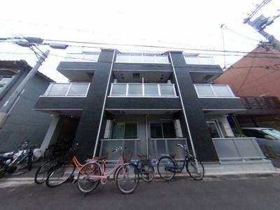 【外観】築浅ハイツタイプ初期費用激安17000円で入居可能