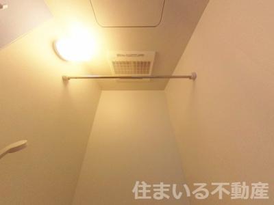 浴室乾燥機も付いてます浴室乾燥機も付いてます