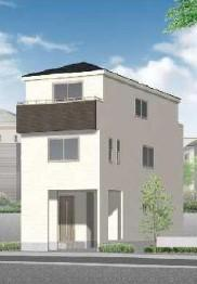 新築戸建 全2棟 2号棟 3LDK+S+S JR南武線「矢向」駅徒歩15分 充実の住宅設備 6.7m道路 リビング15.5帖