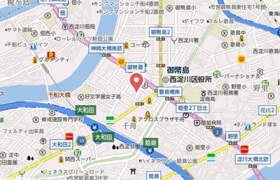 【地図】メゾン千舟