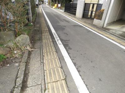 【前面道路含む現地写真】笠幡売地88-27