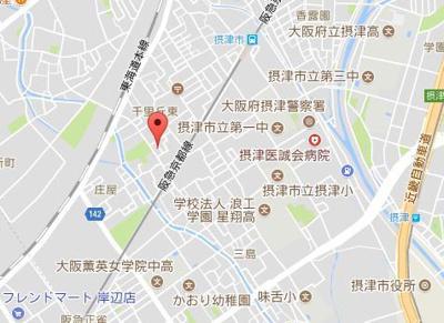 【地図】春日ハイツ