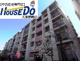 【外観】【賃貸中】住道駅前住宅28号棟 5階