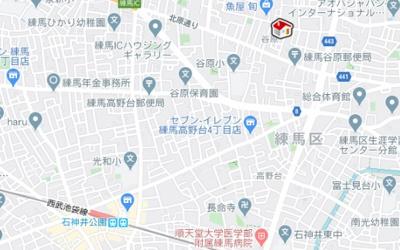 【地図】レオパレスfield(44554-104)