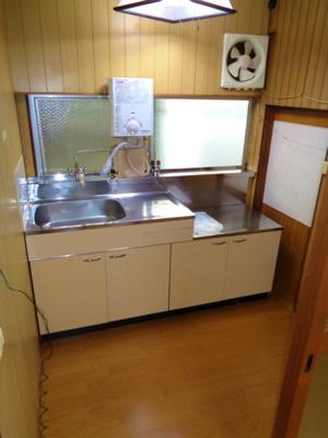【キッチン】鷹合2 村野貸家