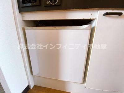ミニ冷蔵庫つき