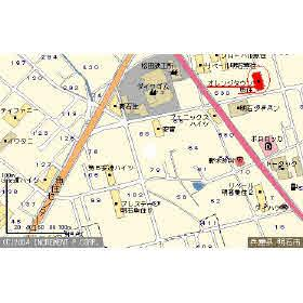 【地図】オレンジタウン魚住