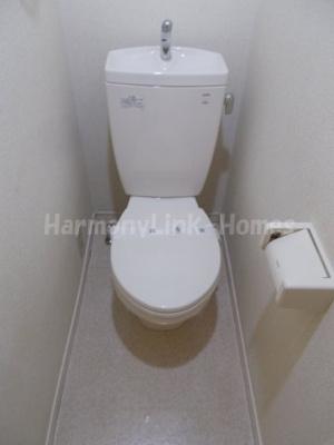 ソルフィー高島平の清潔感のあるトイレです(2階別部屋参照・同一仕様写真)☆