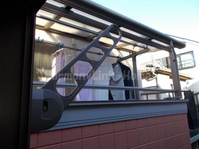 ソルフィー高島平の暖かな日差しのふりそそぐバルコニー(2階別部屋参照・同一仕様写真)☆