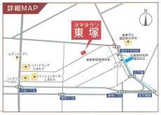 【周辺】東塚戸建て 3号地