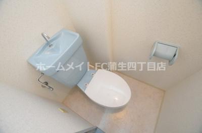 【トイレ】グローリーハイツ都島