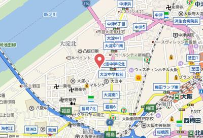 【地図】ハーベスト・メイセイ