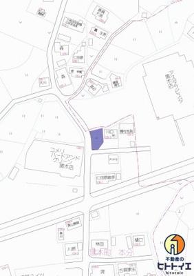 【地図】八女市黒木町 土地 アスタラビスタ 建築条件なし