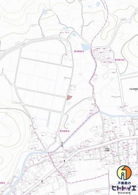 【地図】八女市 黒木町 田本 西黒木小学校