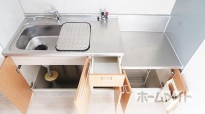 【キッチン】ドミール津之江