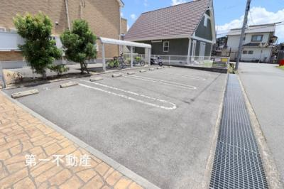【駐車場】プラムガーデンハウス