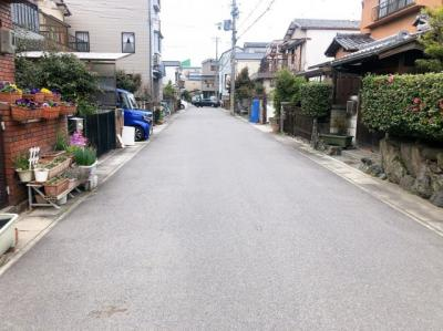 【前面道路含む現地写真】久世大薮町