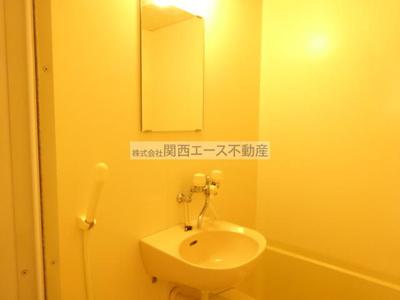 【洗面所】レオパレス菱屋西
