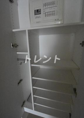 【玄関】ザパーククロス門前仲町