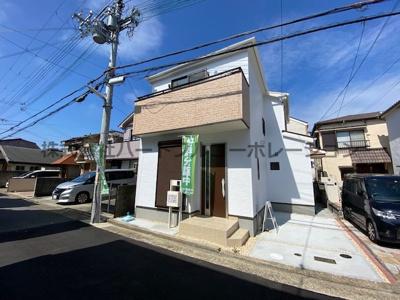 【外観】神戸市垂水区北舞子1丁目 新築一戸建 仲介手数料無料!