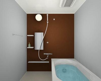 【浴室】朝日プラザ井尻