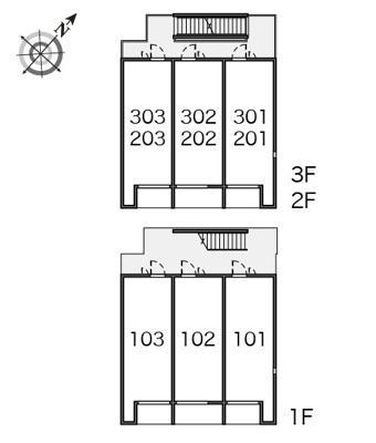 【区画図】ラ プラクミーヌⅡ
