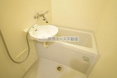 【浴室】レオパレスアルモニI