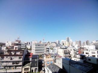 ※4階からの眺望です。【パークコート本郷真砂】