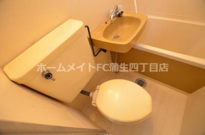 【トイレ】リバーヒル蒲生
