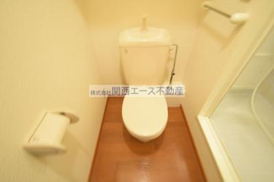 【トイレ】レオパレスナザレ