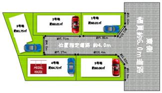 全5家族の新街区♪4号地モデルハウス建築中♪
