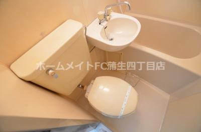 【トイレ】アーベイン都島