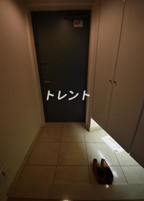 【玄関】パークアクシス麻布仙台坂