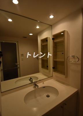 【洗面所】パークアクシス麻布仙台坂