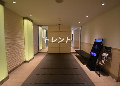 【ロビー】パークアクシス麻布仙台坂