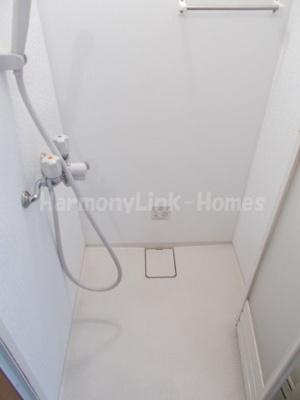 シエスタ新宿のさっと体を洗えるシャワールーム付です