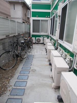 シエスタ新宿の駐輪スペース☆