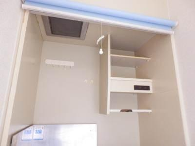 キッチン上部・棚