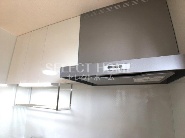 【キッチン】ロイヤル岡崎柱